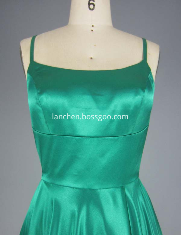 Bridesmaid Dress Green