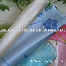 100 % polyester trico velvet fabric one side brushed for garment