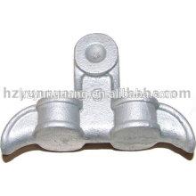 Liga de alumínio elétrico braçadeira de Suspensão a quente galvanizado pólo elétrico peças de metal pólo de potência linha de hardware de montagem de ligação