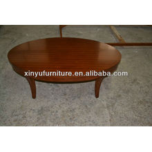 Овальный столовый журнальный столик из дерева XY0819