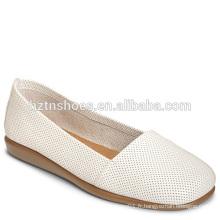Ladies Modern Square Toe Ballerina Shoes 2016 Nouveau design