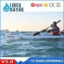 Casco plástico de calidad superior de solo asiento Kajak con 16 años de protección UV