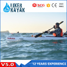 Пластмассовый корпус Kajak с одним сиденьем высшего качества с 16-летней защитой от ультрафиолетового излучения