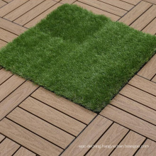 30mm Synthetic Lawn Grass Artificial Grass Fence Synthetic Turf Mat Tiles for Garden Outdoor