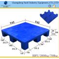 9 Füße HDPE Solid Deck Standard Kunststoffpalette Größe