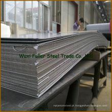 Duplex de aço inoxidável frente e verso da folha 2205 de aço inoxidável