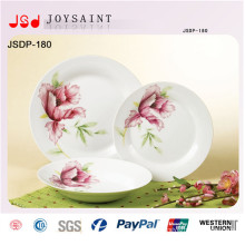 China Manufacturer Wholesale Stoneware Decoration New Design Dinner Set