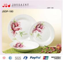 China fabricante grossista grés decoração novo design jantar conjunto