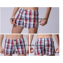 Colorful T/C Yarn Dyed Check Men′s Beach Short Fabric