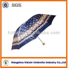 Guarda-chuva de cetim barato extravagante das mulheres 10K Item No.388