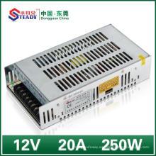 Fuente de alimentación de red 12VDC 250W