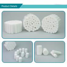 Rolo de algodão dental estéril descartável médico