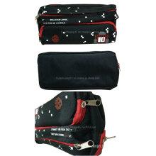 School Student Zipper Stationery Bag Pen Case Pencil Box Opg067