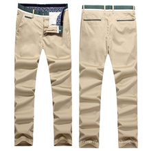 Wholesale Men′s Classical Stretch Twill Chino Pants