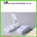 Dispensador plástico impreso promocional de la píldora con el cortador (EP-P0903)