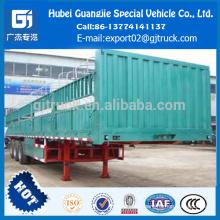 Nouvelle Chine semi-remorque QINGONG LHL9400CXY Cargo semi-remorque en acier, nouveau modèle, haute qualité