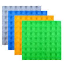 Base de 25,5 * 25,5 cm DIY tijolo para Minifigures