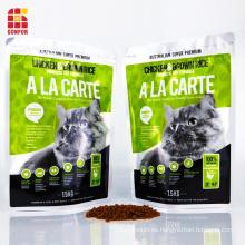 Bolsas de comida para gatos Bolsa de comida para mascotas Bolsas de embalaje de aluminio