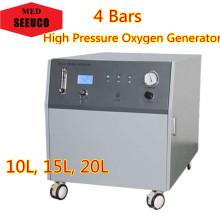 Serie de concentrador de oxígeno de alta presión