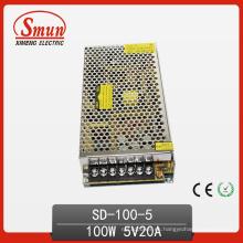 Fuente de alimentación de modo de conmutación de 100W a 5V CC a CC