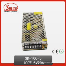 100W 5V DC para fonte de alimentação de modo de comutação DC