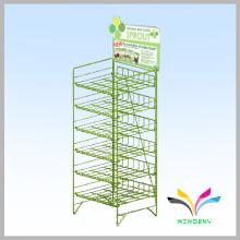 Supermarket Shop Promotion food wire retail metal display rack