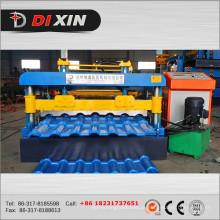 Rolo galvanizado colorido do telhado do zinco de Dx 1100 que forma a máquina