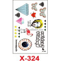Yincai tattoo supplies, factory price temporary stickers for makeup