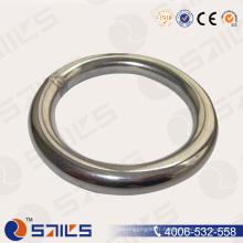 Bague ronde soudée en acier inoxydable AISI 316 Sr-J