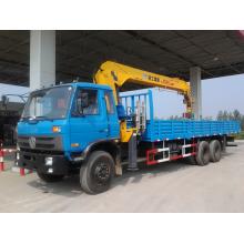 Dongfeng 6x4 grúa montada sobre camión grúa montada en vehículo