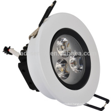 round ceiling led downlight 3w for home decoration