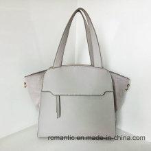Guangzhou Lieferanten Mode Dame PU Leder Plüsch Handtaschen (Z-015)
