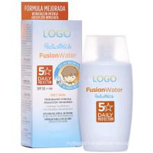 OEM Private Custom SPF 50 Facial Sun Cream for Kids
