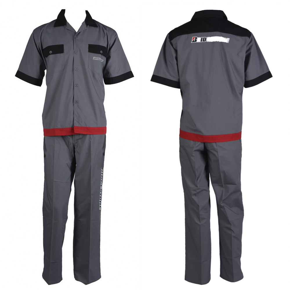 short sleeve work suit B03-X