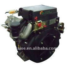 Motores diesel de dos cilindros refrigerados por aire