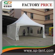 Tente à traction de 6 m (étanche à l'eau, résistant aux flammes, cadre en aluminium)