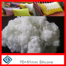 7D Hollow Conjugated Siliconzed Fiber, Pillow Raw Material