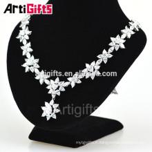 Artigifts Fashional Collier Collier Designs Sparkling Goutte d'eau Dangling zircon collier 2016