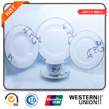 20PCS Handpainting Ceramic Dinner Set with Plate Mug Coffee Cup