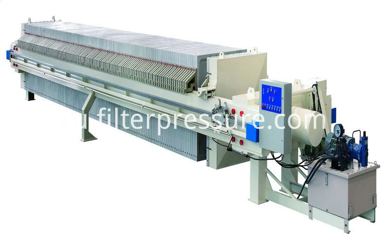 Sewage Plate Frame Filter Press (6)