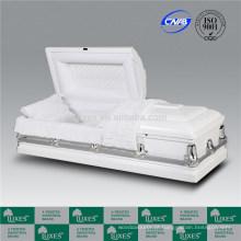 Fantástico americano novo estilo de madeira caixões para o enterro cremação caixões