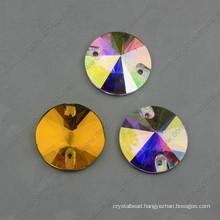 Round Loose Glass Beads Grament Stone (DZ-3041)