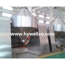 Double Conical Revolving Vacuum Drier