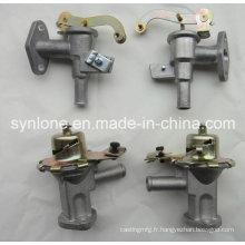 Pièces de montage en fonte d'acier et d'usinage