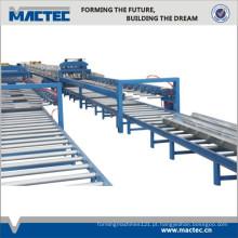 Estrutura de aço high-end Deck Deck Roll formando máquina para Roof Deck