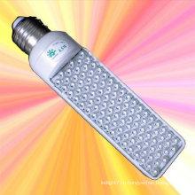 E26 b22 E27 g24 5w светодиодная горизонтальная вставленная лампа 220v 110v 65leds 102led