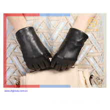 2016 new style girls fashion dress luxury leather glove