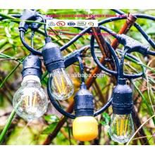Decorativo Ao Ar Livre Feliz Natal À Prova D 'Água Paisagem Iluminação Neve Caindo Patio LED String Luzes SLT-311