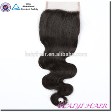 Wholesale price Bleached knots 9A grade Virgin Brazilian Hair lace closure for black women cuticle aligned hair