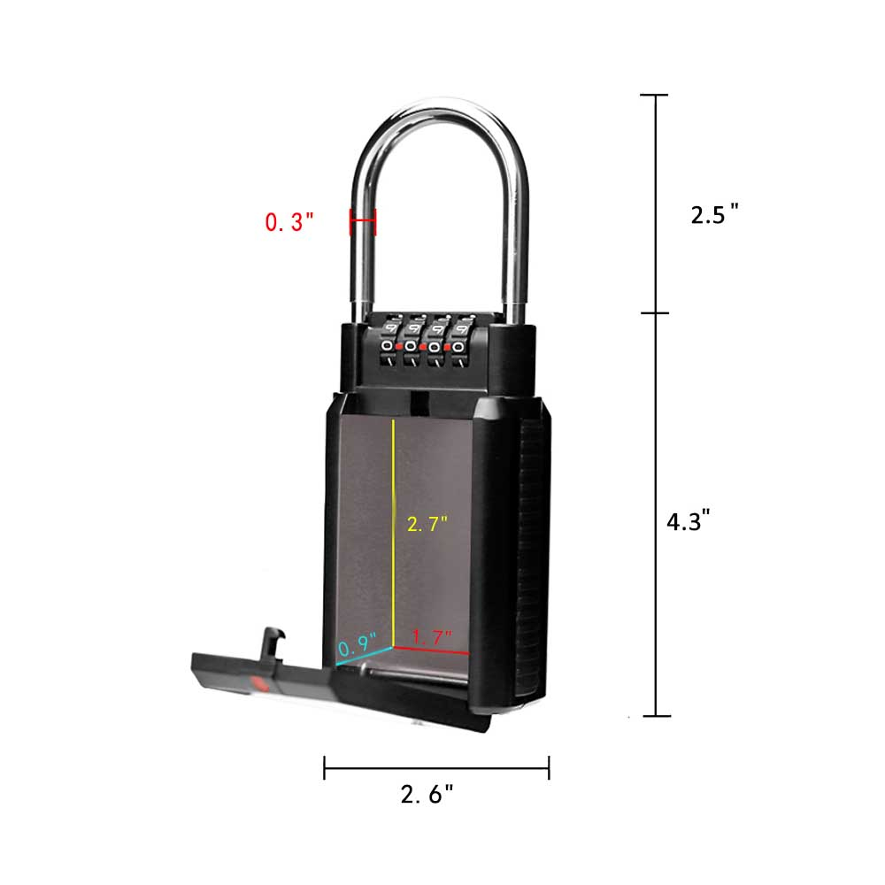 Bil Nyckelkombination Surf Lock
